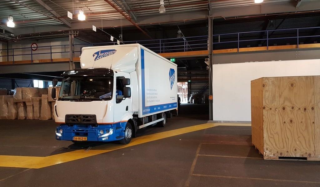 Opslagruimte Amsterdam-Haarlem